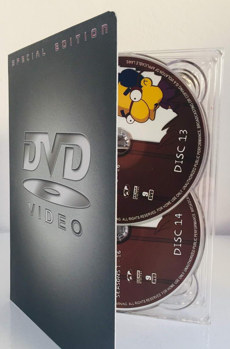 The Simpsons - Complete Seasons 1-16 - Disc 13-22 - v originálním znění bez CZ titulků - 10xDVD /multi digipack/