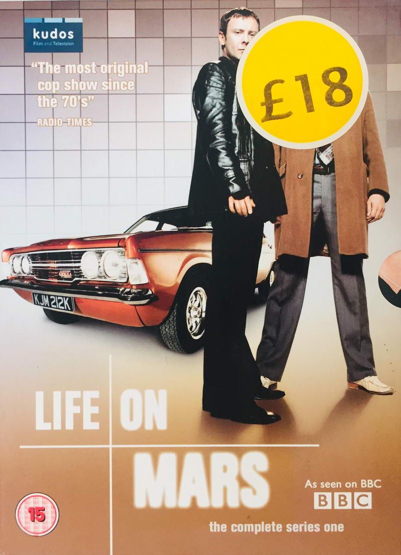 Life on Mars - The Complete Series One - v originálním znění bez CZ titulků - 4xDVD /multi digipack v šubru/