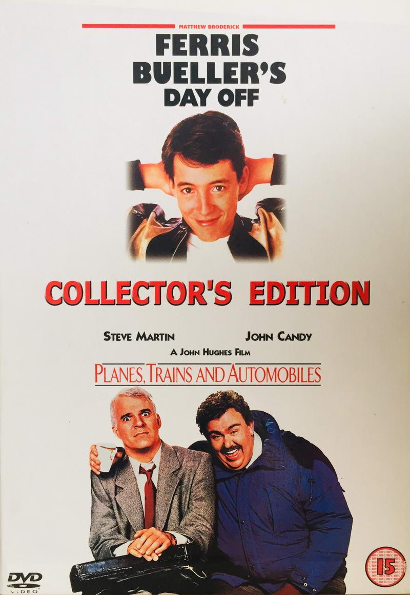 Ferris Bueller's Day Off / Planes, Trans and Automobiles - Collector's Edition - v originálním znění bez CZ titulků - 2xDVD /2xplast v šubru/