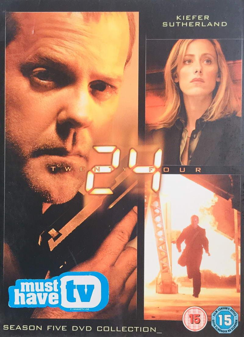 24 Twenty Four - Season 5 DVD Collection - v originálním znění bez CZ titulků - 7xDVD /multi digipack v šubru/