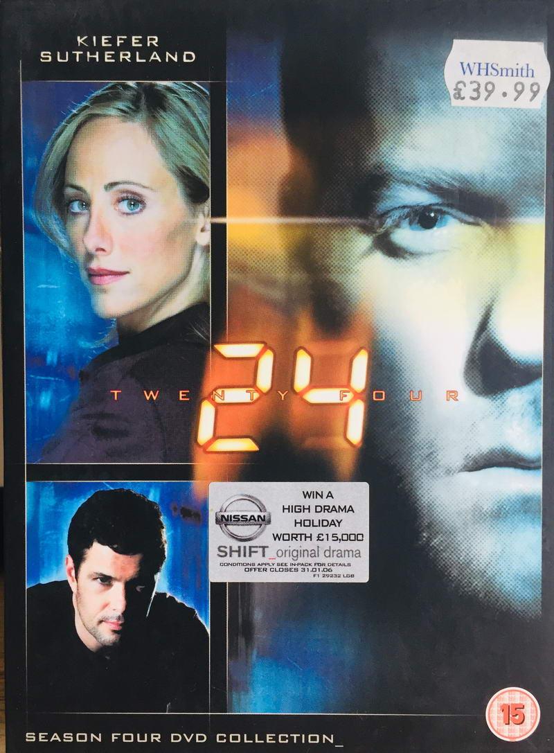 24 Twenty Four - Season 4 DVD Collection - v originálním znění bez CZ titulků - 7xDVD /multi digipack v šubru/