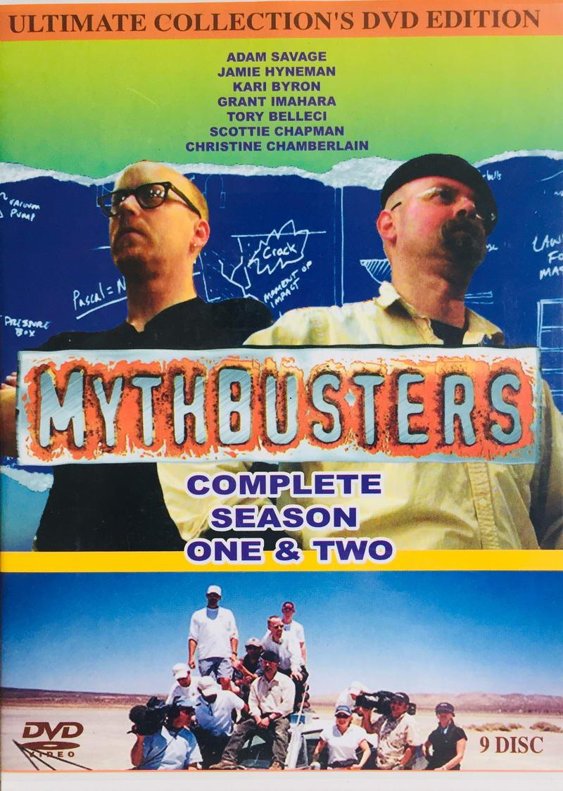 Mythbusters - Complete Season One & Two - v originálním znění bez CZ titulků - 9xDVD /plast/