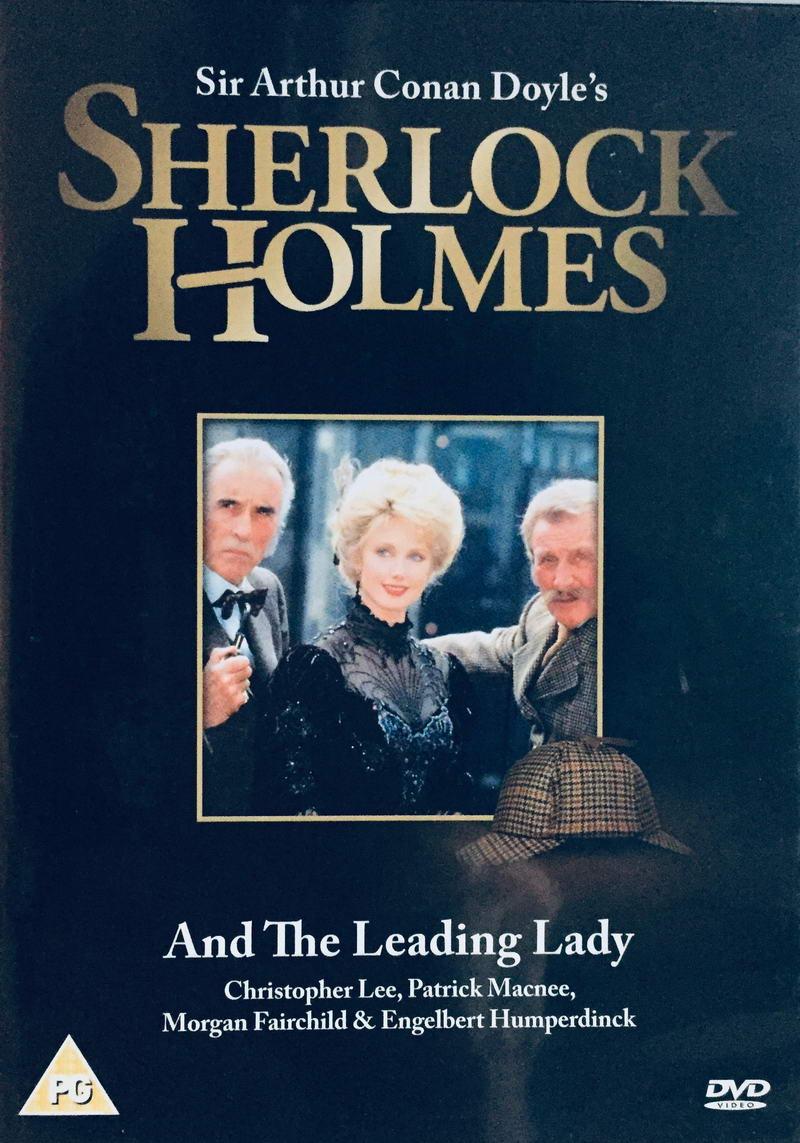 Sherlock Holmes And The Leading Lady - v originálním znění bez CZ titulků - DVD /plast/