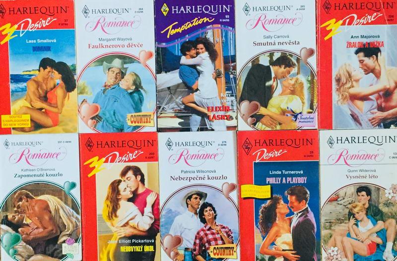 Velká knižní kolekce Harlequin 21. - 10x bazarová kniha