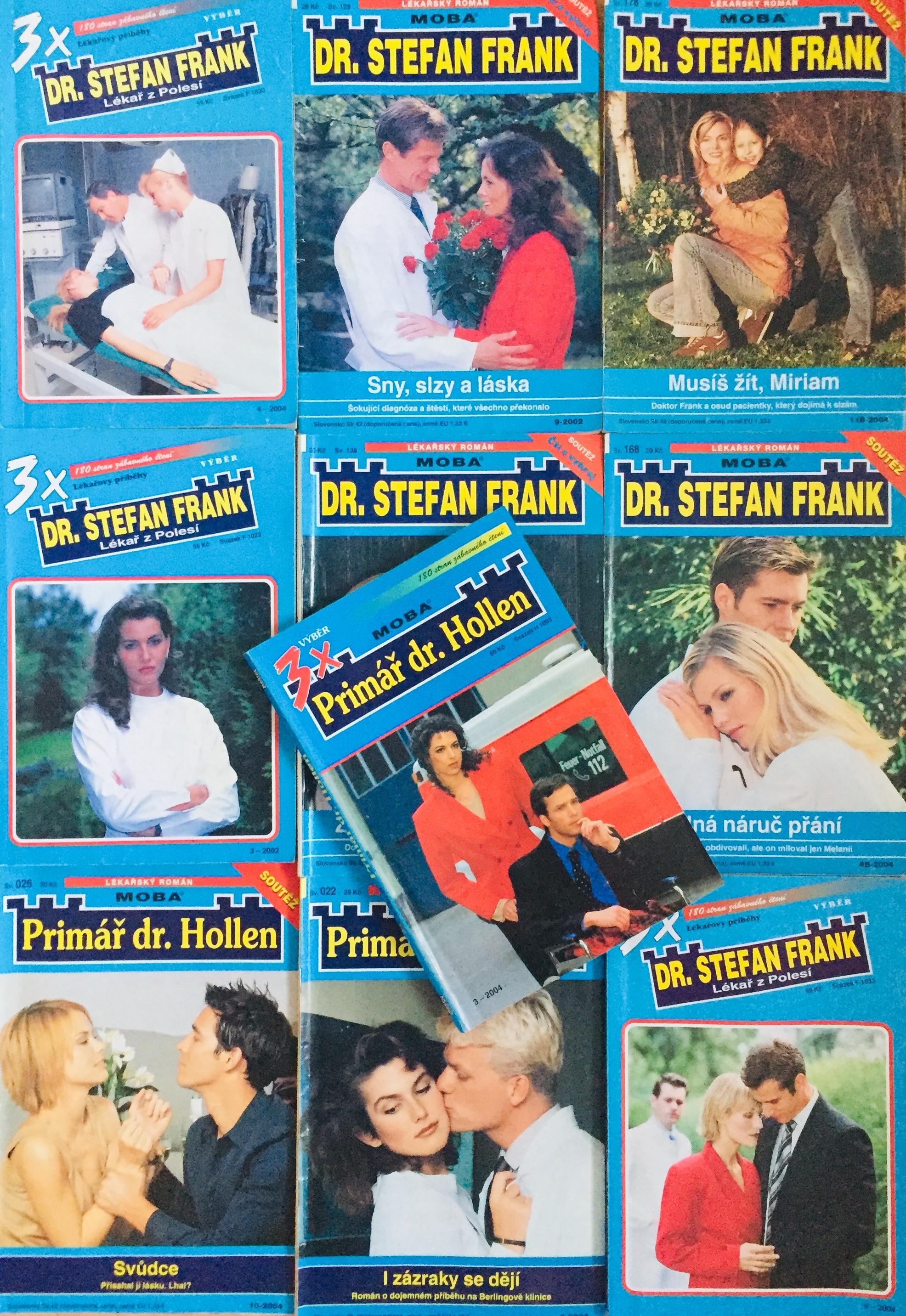 Velká knižní kolekce Harlequin 25. - 10x bazarová kniha