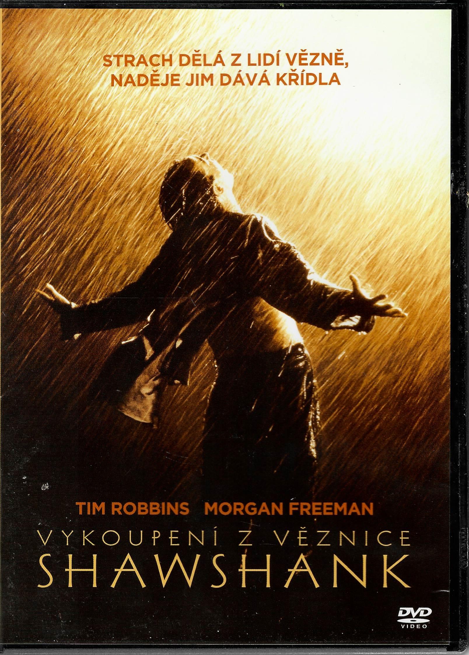 Vykoupení z věznice Shawshank - DVD plast