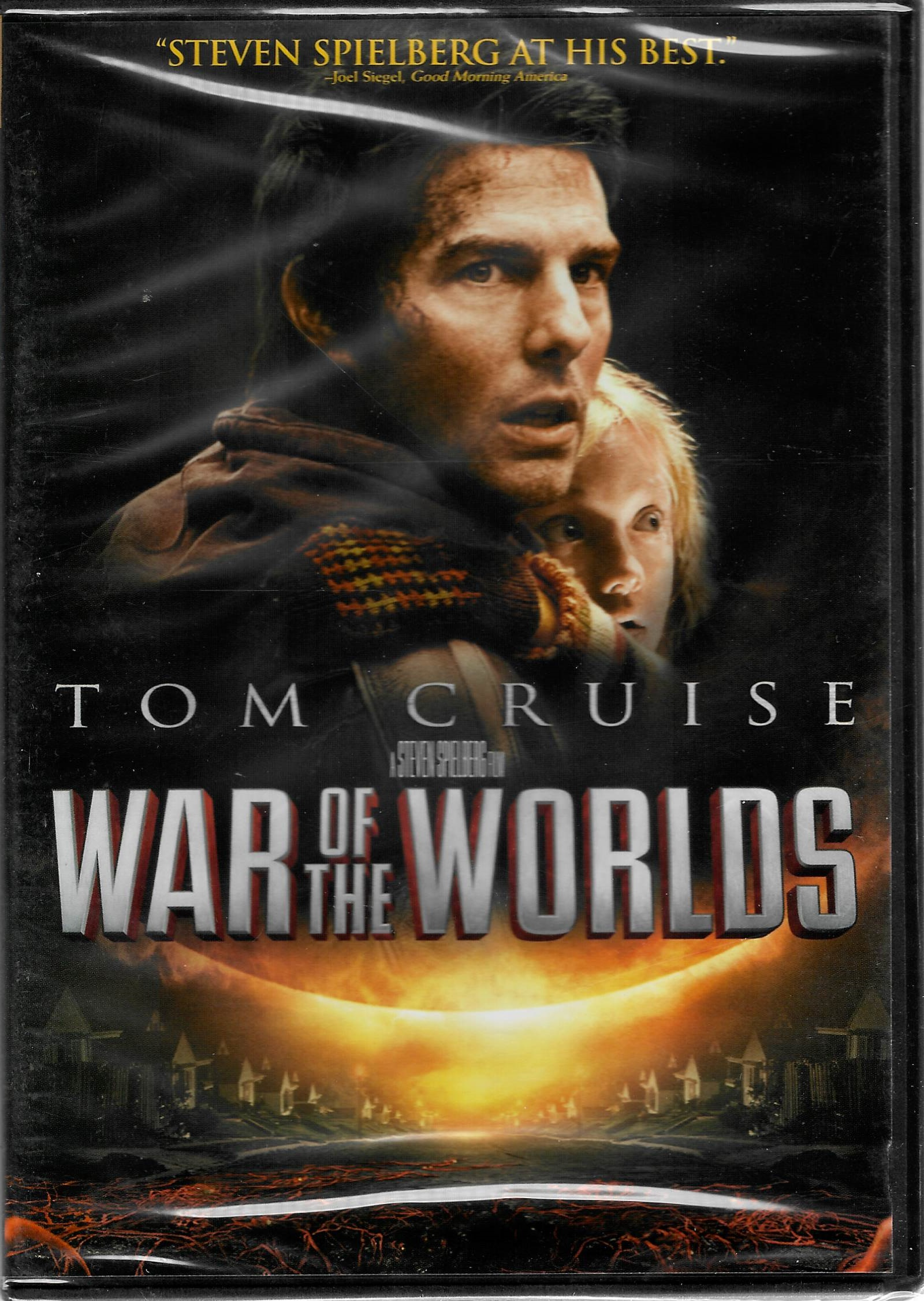 War of the Worlds - DVD plast