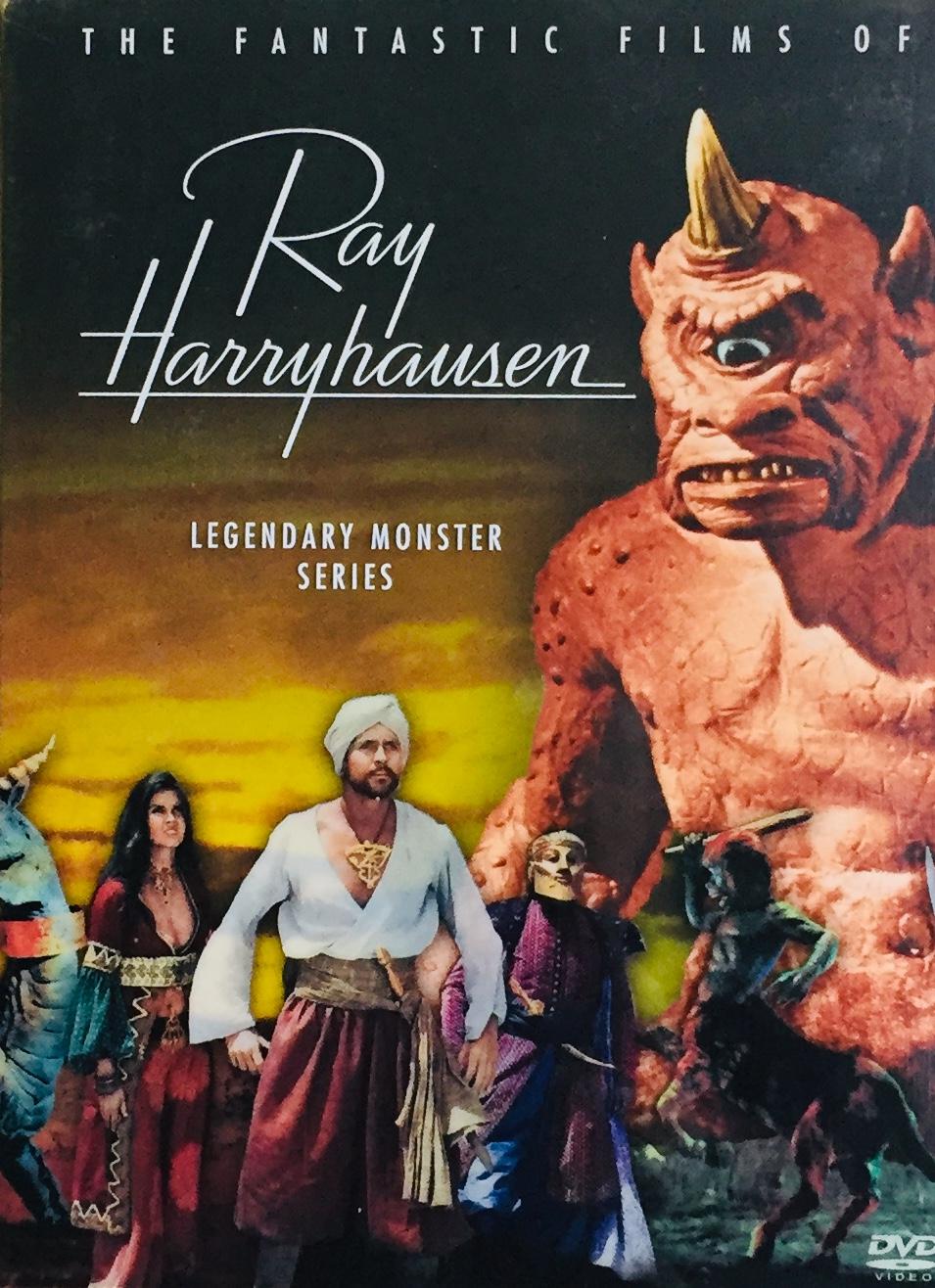 The Fantastic Films of Ray Harryhausen - Legendary Monster Series - v originálním znění bez CZ titulků - 5xDVD/ 5xplast v šubru/bazarové zboží/