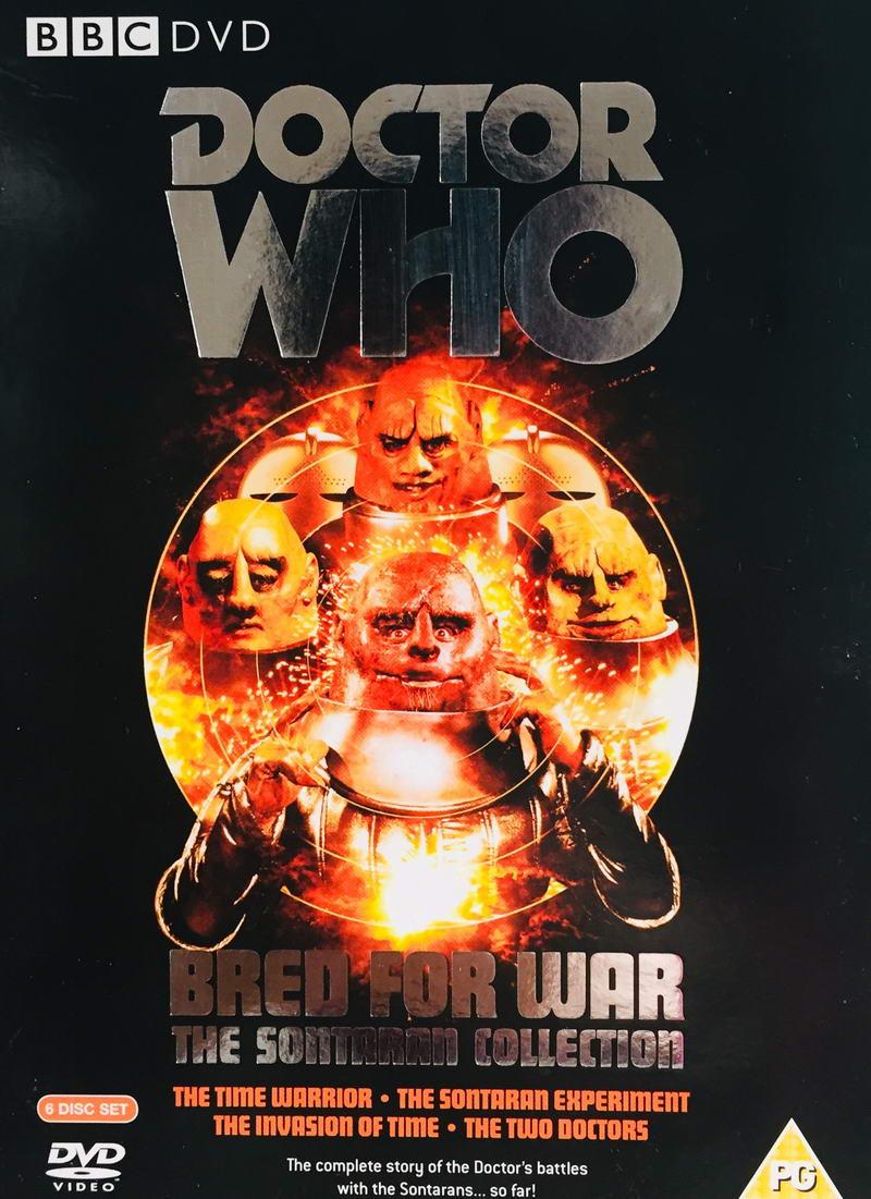 Doctor Who - The Sontaran Collection - v originálním znění bez CZ titulků - 5xDVD/ 4xplast v šubru/bazarové zboží/