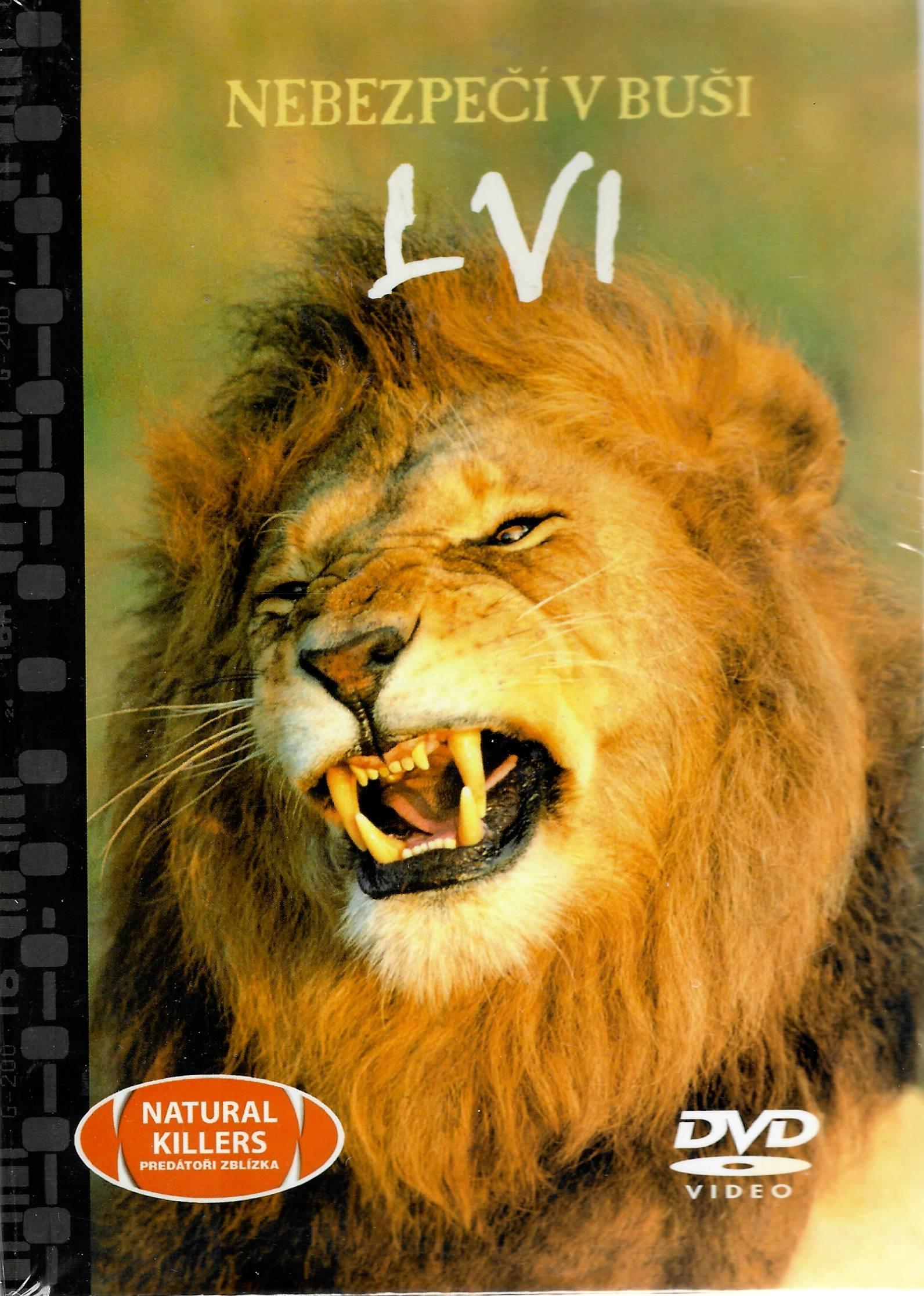 Nebezpečí v buši - Lvi - DVD + brožura