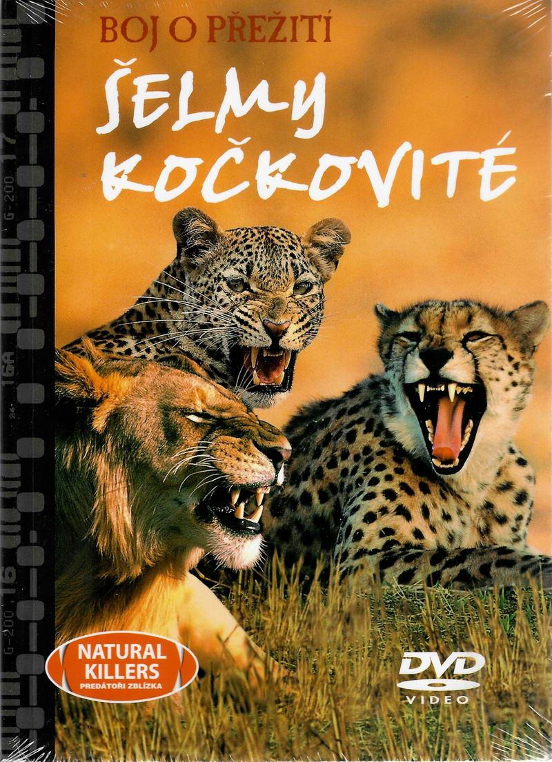 Boj o přežití - Šelmy kočkovité - DVD + brožura