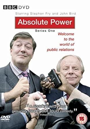 Absolute Power - Series One - v originálním znění bez CZ titulků - DVD /plast/
