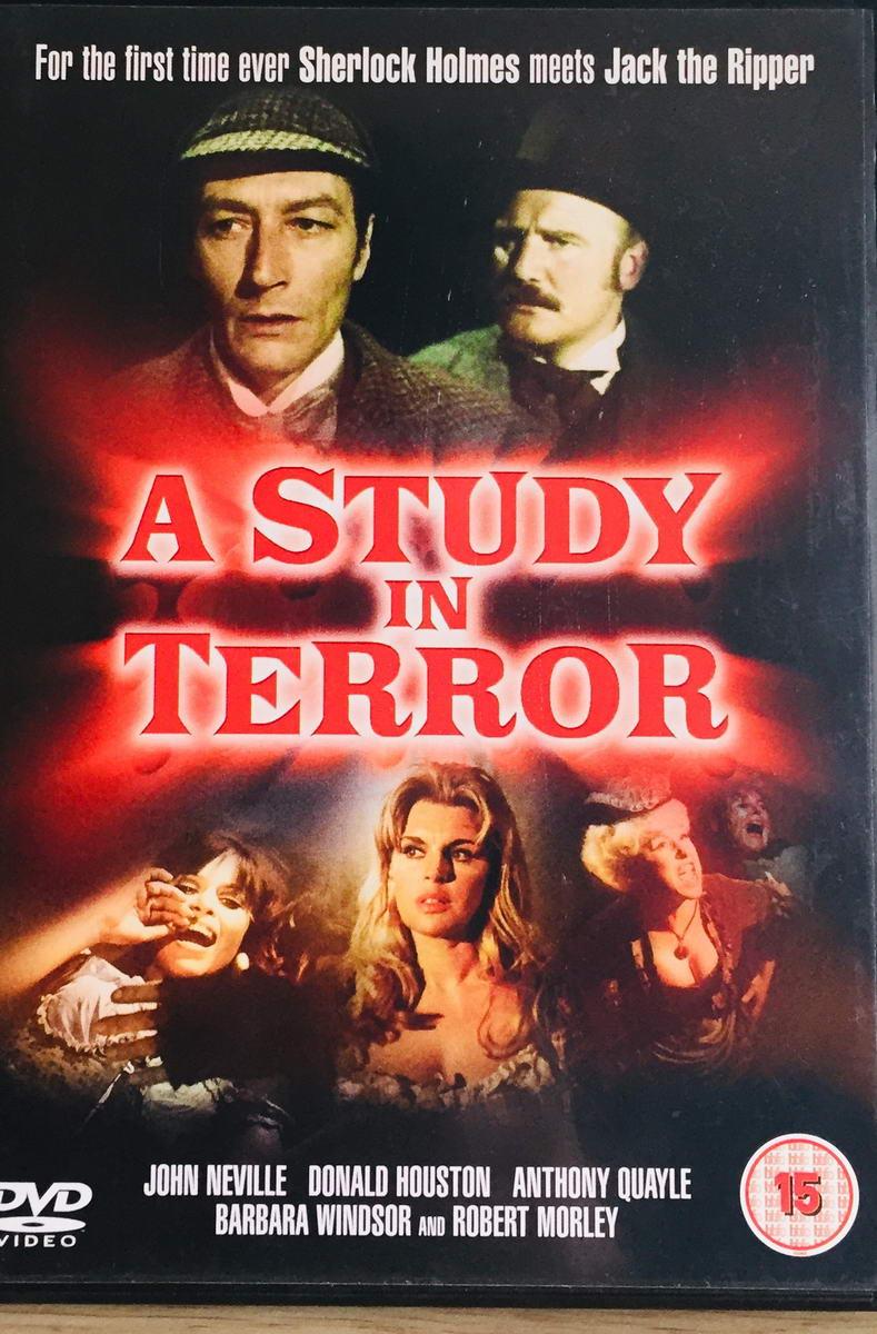 A Study in Terror - v originálním znění bez CZ titulků - DVD /plast/