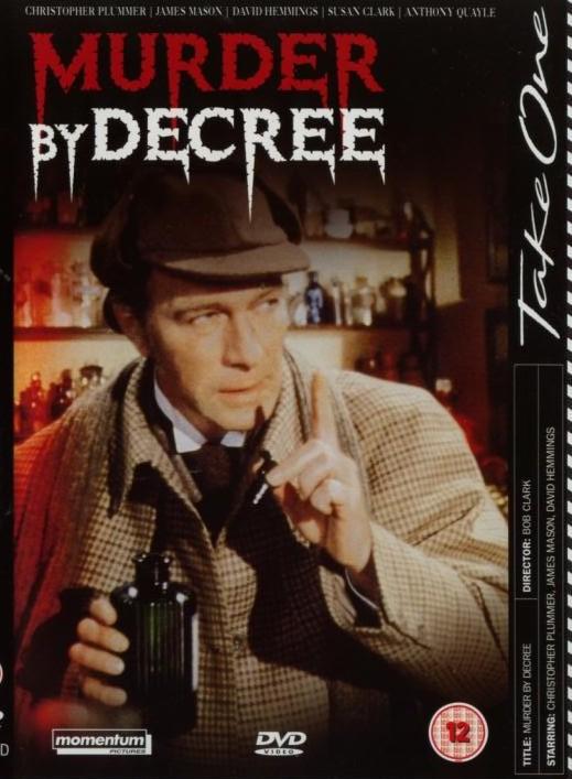 Murder by Decree - v originálním znění bez CZ titulků - DVD /plast/