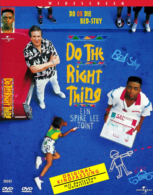 Do The Right Thing - v originálním znění bez CZ titulků - DVD /plast/