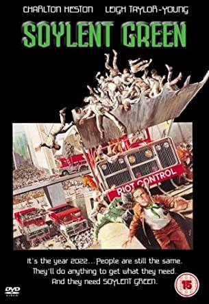 Soylent Green - v originálním znění bez CZ titulků - DVD /plast/