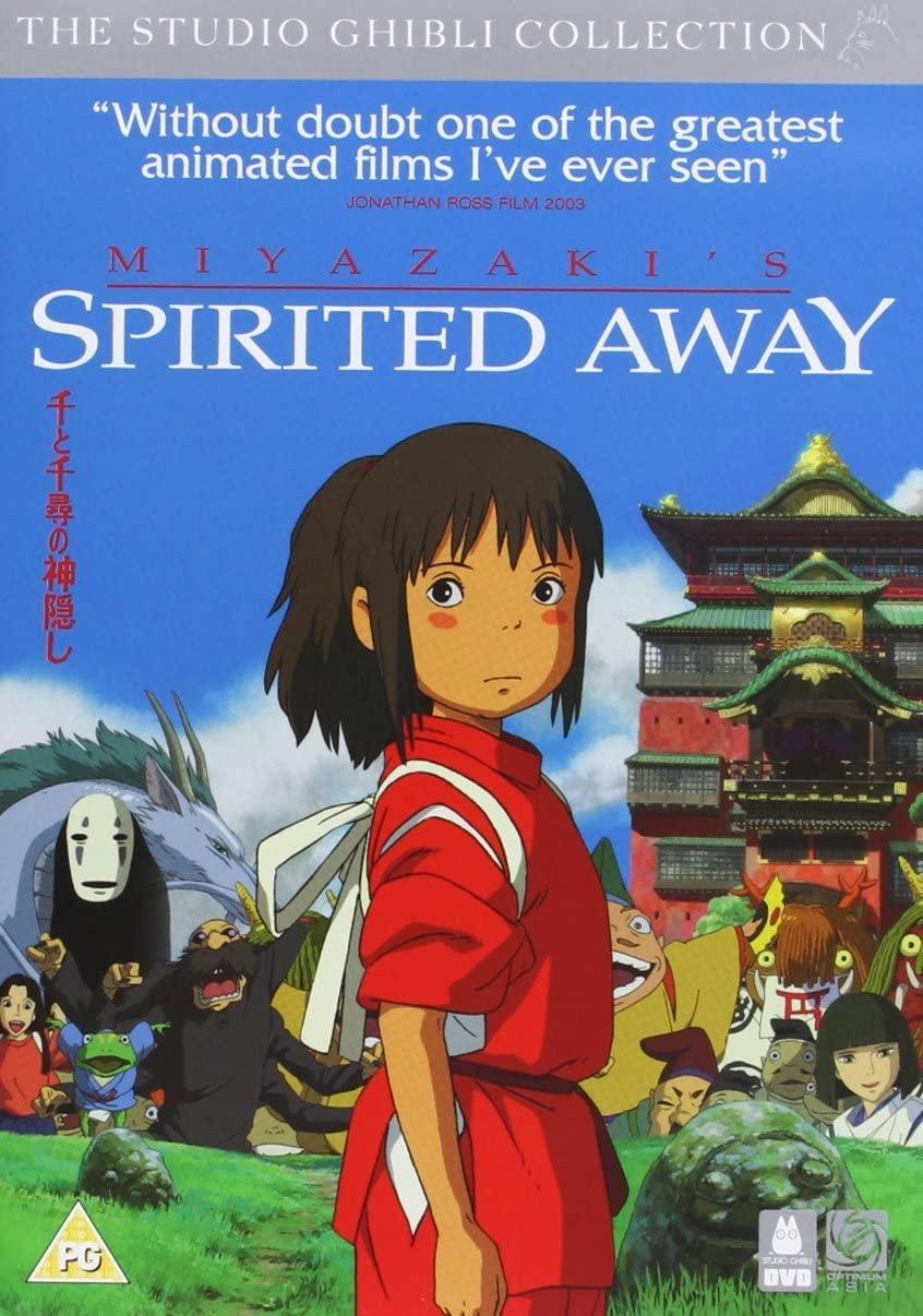 Spirited Away - the Studio Ghilbi Collection - v originálním znění bez CZ titulků - 2xDVD /plast/