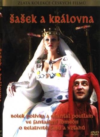 Šašek a královna - Zlatá kolekce českých filmů - DVD /plast/