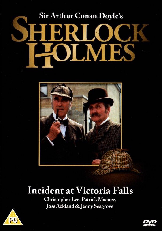 Sherlock Holmes - Incident at Victoria Falls - v originálním znění bez CZ titulků - DVD /plast/