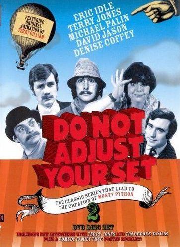 Do Not Adjust Your Set - 2 DVD Disc Set - v originálním znění bez CZ titulků - 2xDVD /plast/