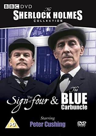 The Sign of Four & The Blue Carbuncle - The Sherlock Holmes Collection - v originálním znění bez CZ titulků - DVD /plast/