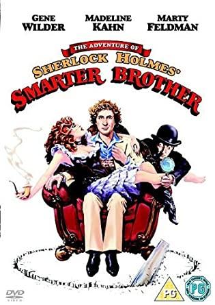 The Adventure of Sherlock Holmes - Smarter Brother - v originálním znění bez CZ titulků - DVD /plast/