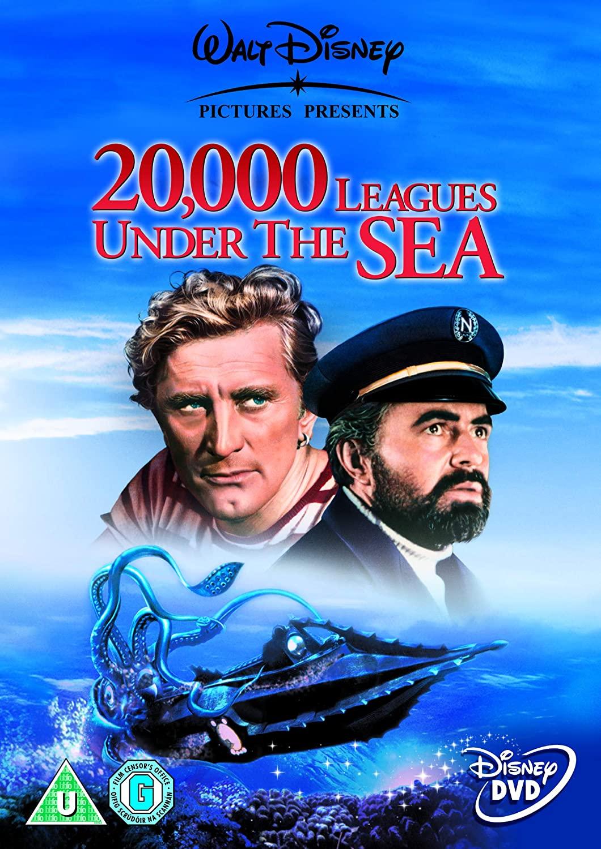20,000 Leagues Under the Sea - Walt Disney - v originálním znění bez CZ titulků - DVD /plast/