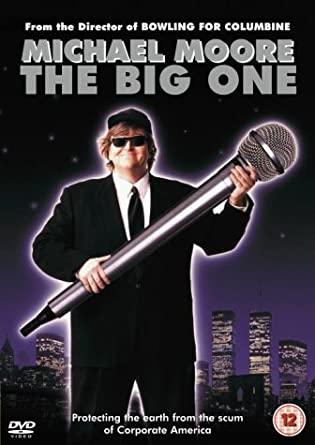 The Big One - Michael Moore - v originálním znění bez CZ titulků - DVD /plast/