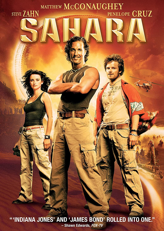 Sahara - v originálním znění bez CZ titulků - DVD /plast/
