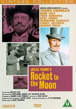 Rocket to the Moon - Jules Verne - Vintage Collection - v originálním znění bez CZ titulků - DVD /plast/