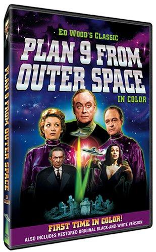 Plan 9 From Outer Space - v originálním znění bez CZ titulků - DVD /plast/