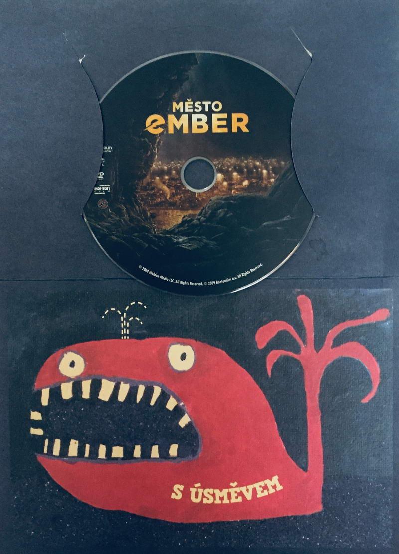 Město Ember - DVD /dárkový obal/