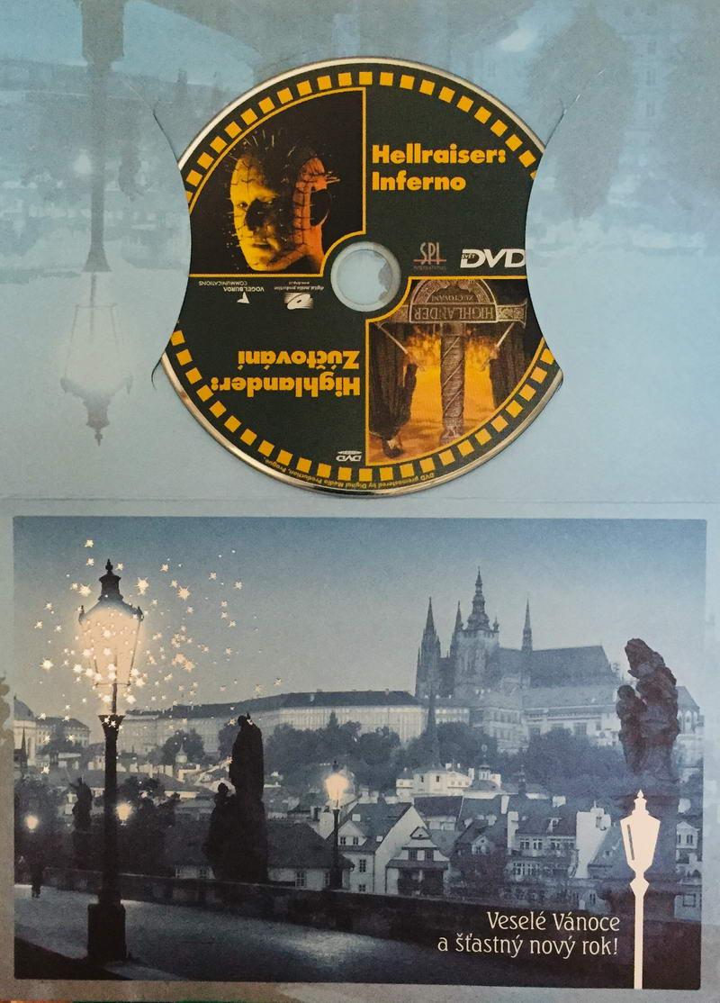 Hellraiser: Inferno / Highlander: Zúčtování - DVD /dárkový obal/