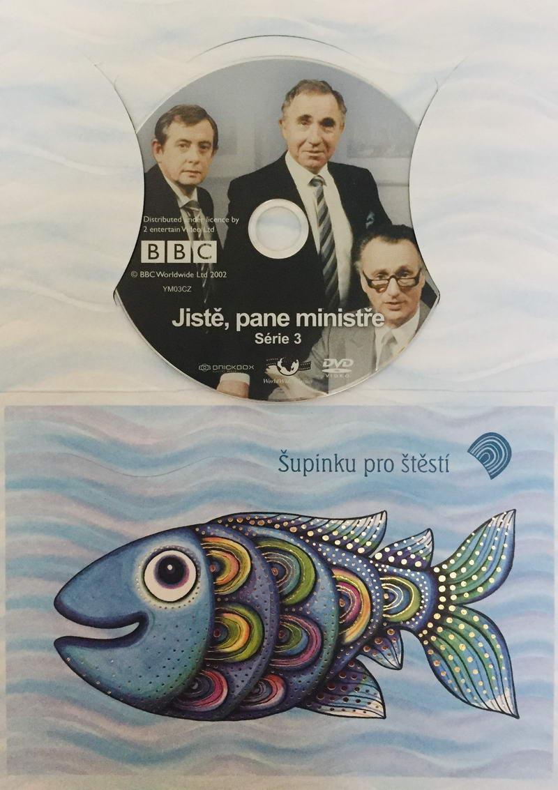 Jistě, pane ministře 3 - DVD /dárkový obal/