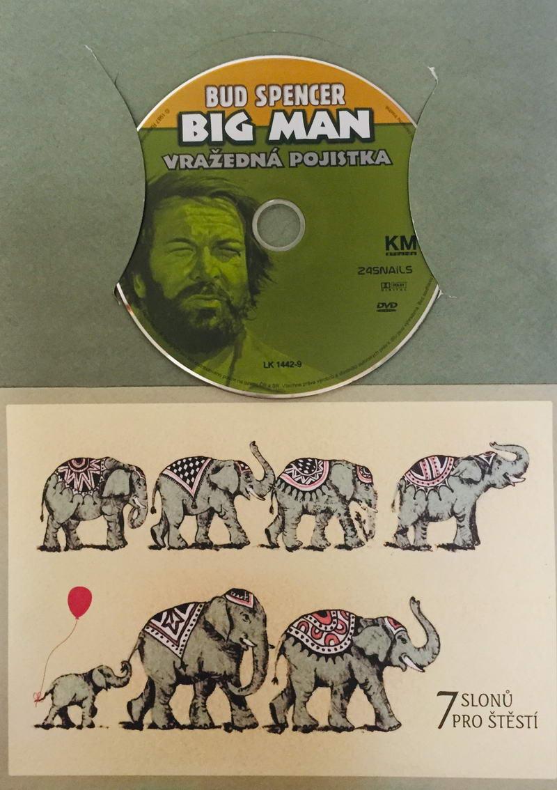 Big Man: Vražedná pojistka - DVD /dárkový obal/