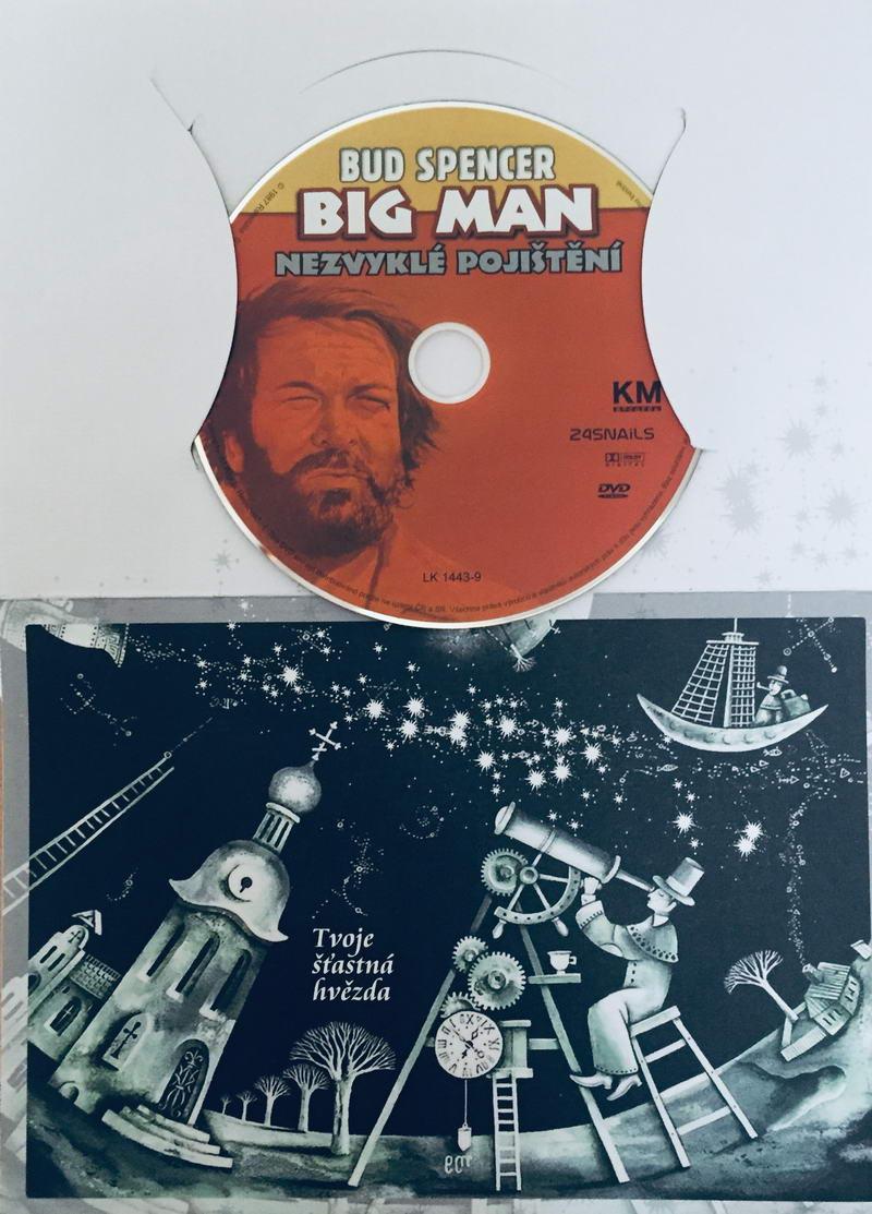 Big Man: Nezvyklé pojištění - DVD /dárkový obal/