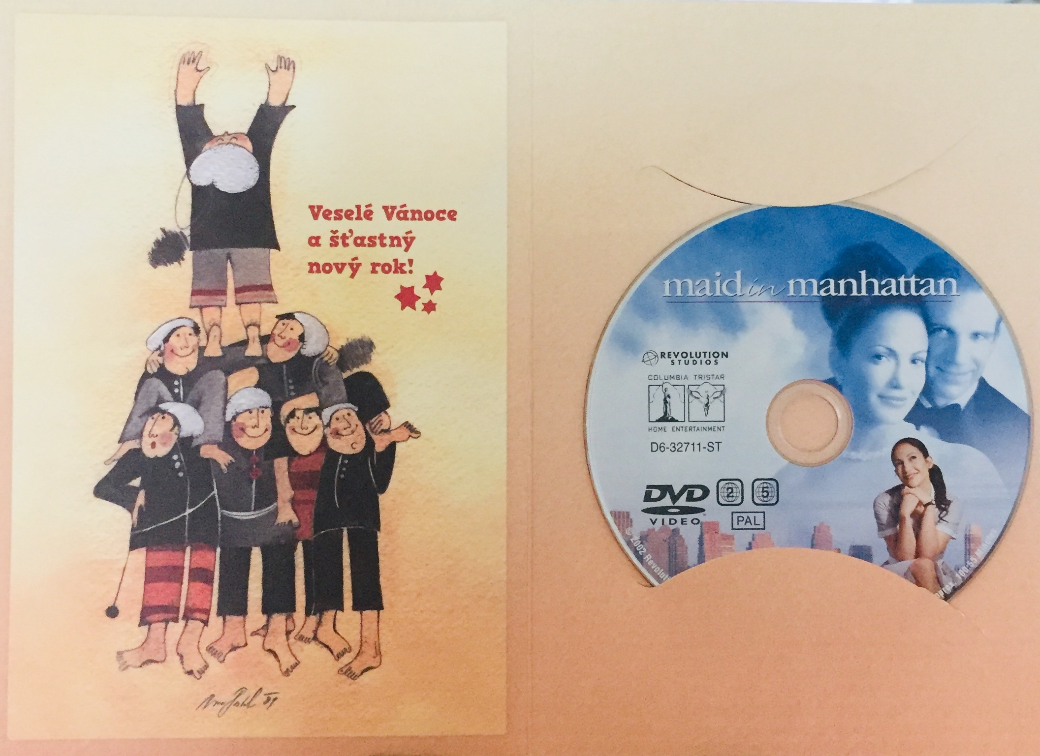 Maid in Manhattan / Krásná pokojská - DVD /dárkový obal/