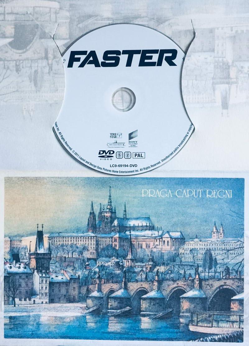 Faster / Rychlejší - DVD /dárkový obal/
