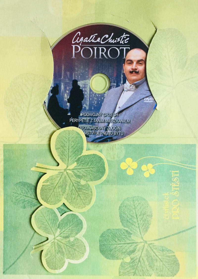 Poirot - Dvojnásobný zločin / Tajemství levného bytu - DVD /dárkový obal/