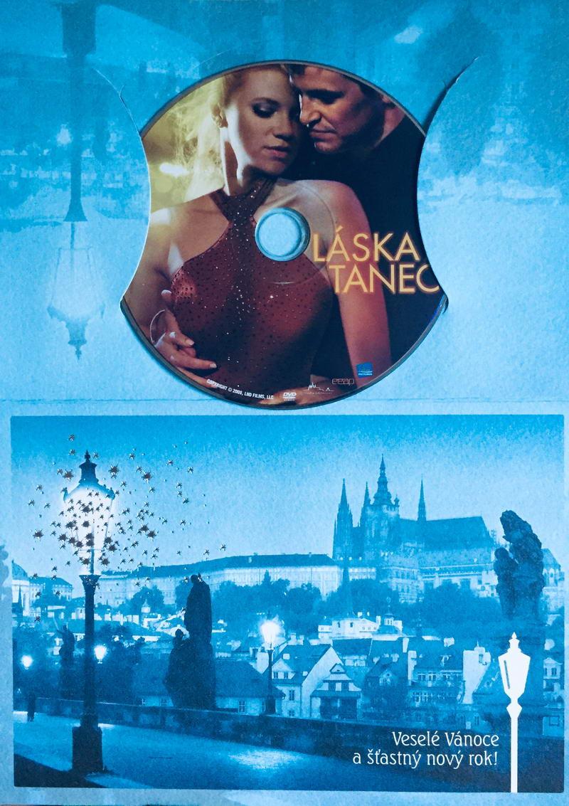 Láska a tanec - DVD /dárkový obal/
