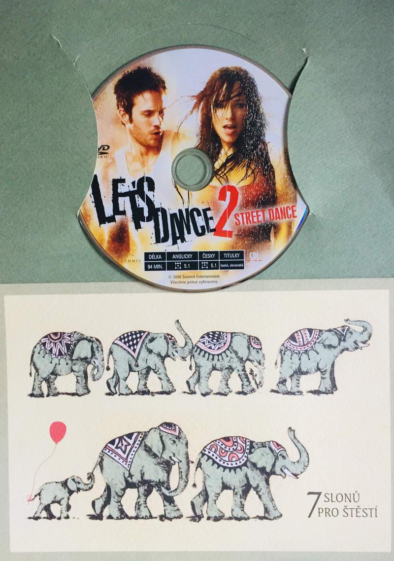 Let's Dance 2 - Street Dance - DVD /dárkový obal/