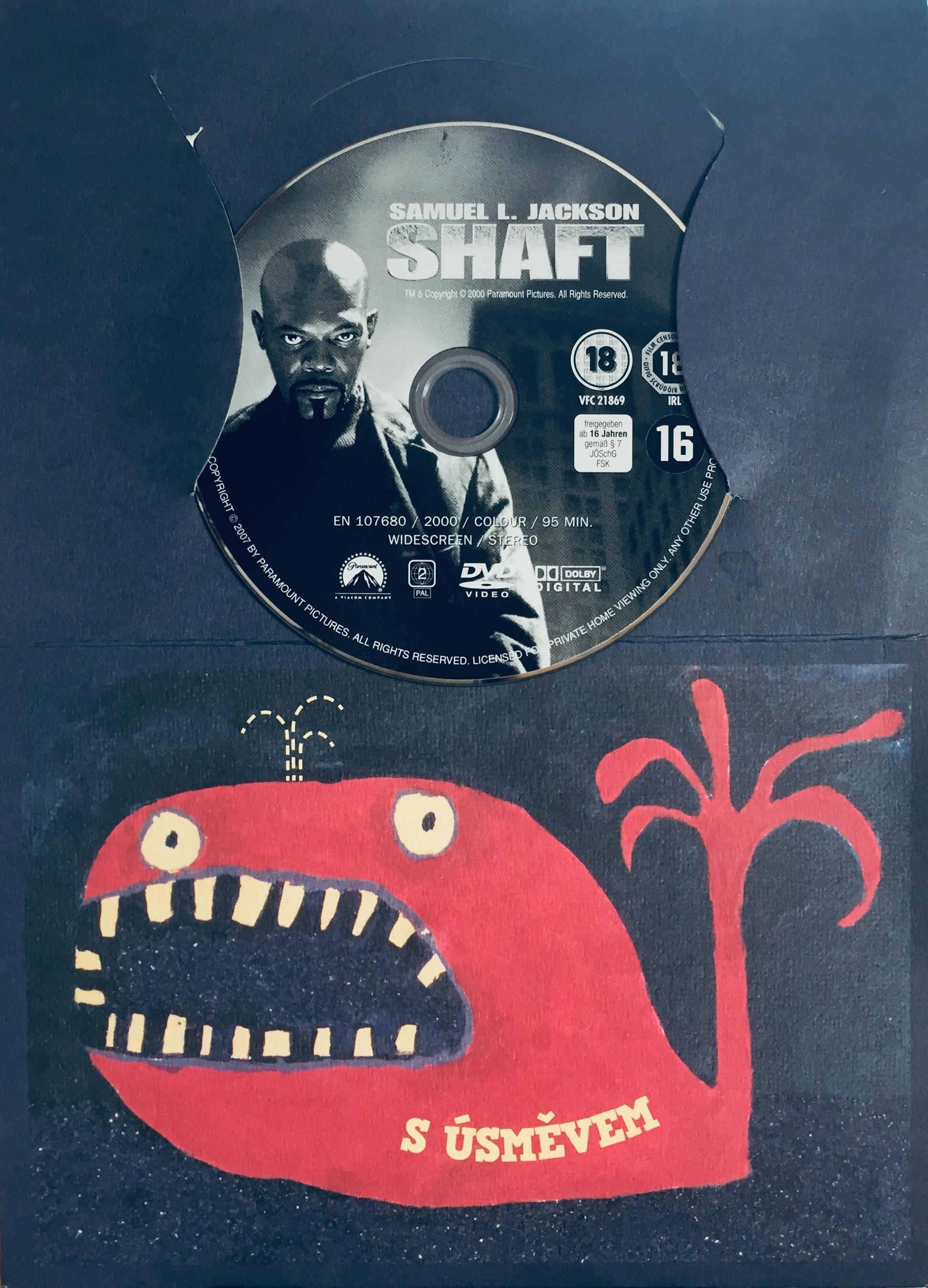 Shaft / Drsnej Shaft - DVD /dárkový obal/