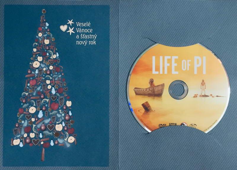 Life of Pi / Pí a jeho život - DVD /dárkový obal/
