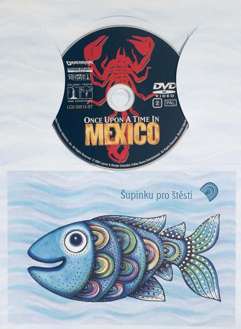 Once Upon a Time in Mexico / Tenkrát v Mexiku - DVD /dárkový obal/