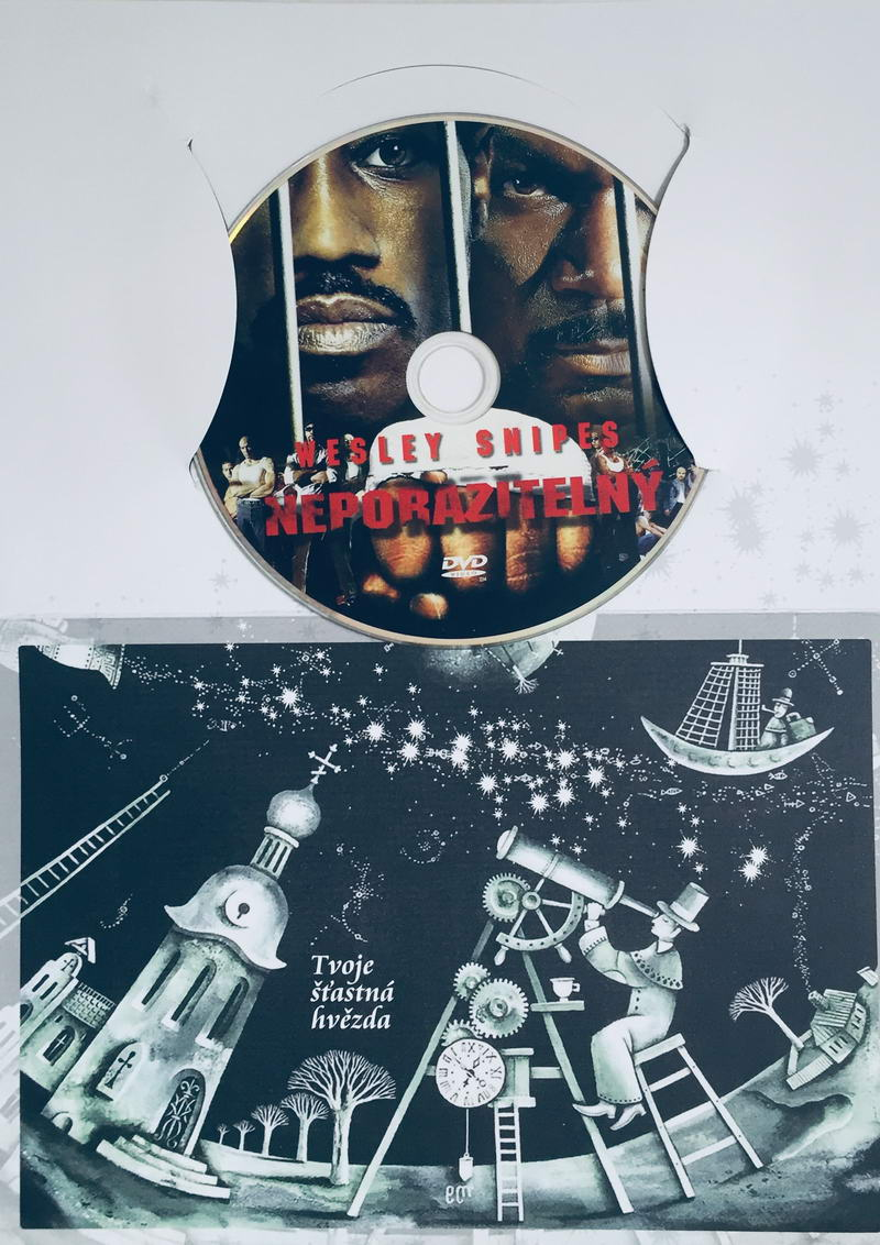 Neporazitelný - DVD /dárkový obal/