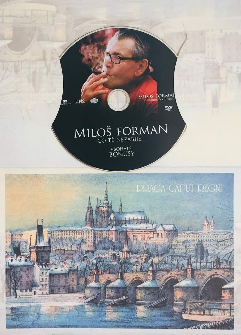 Miloš Forman - Co tě nezabije... - DVD /dárkový obal/