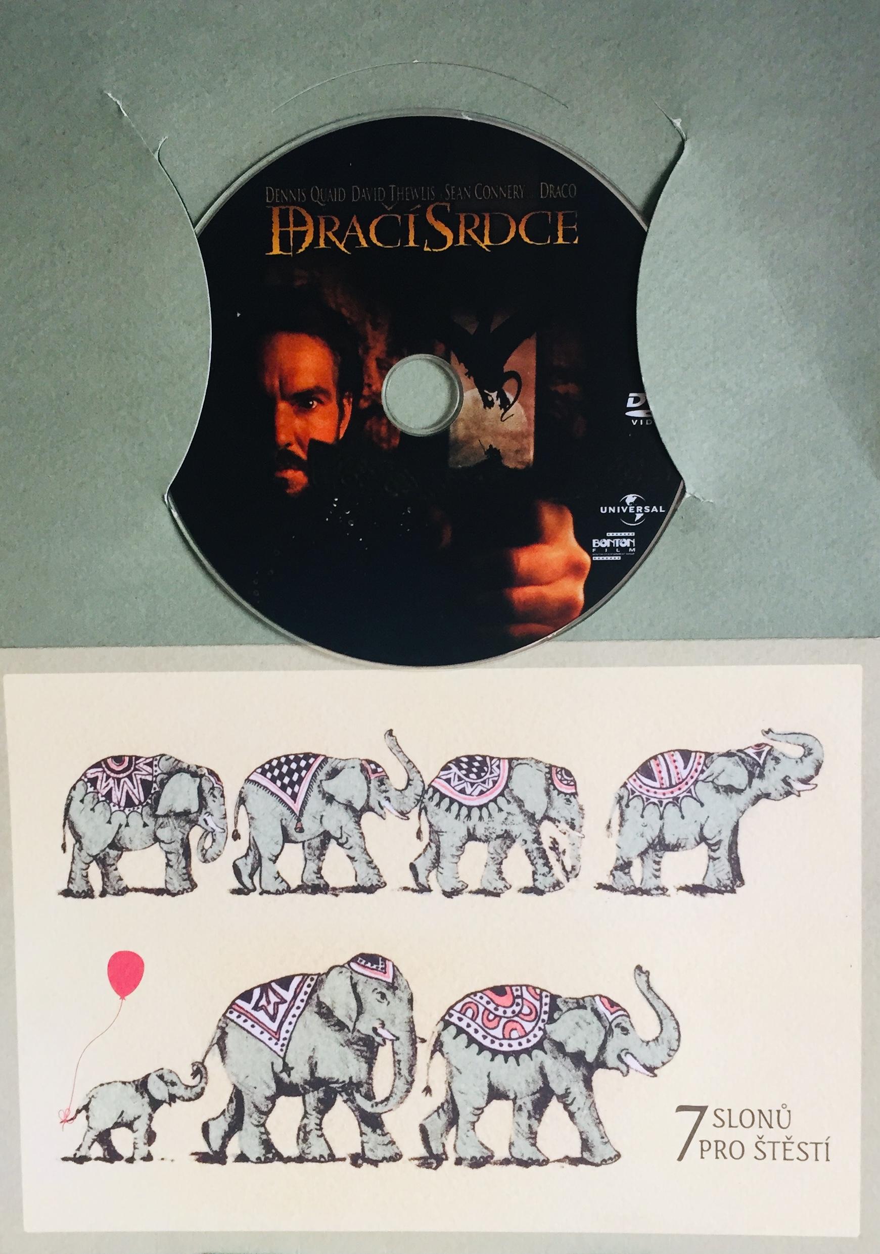 Dračí srdce - DVD /dárkový obal/
