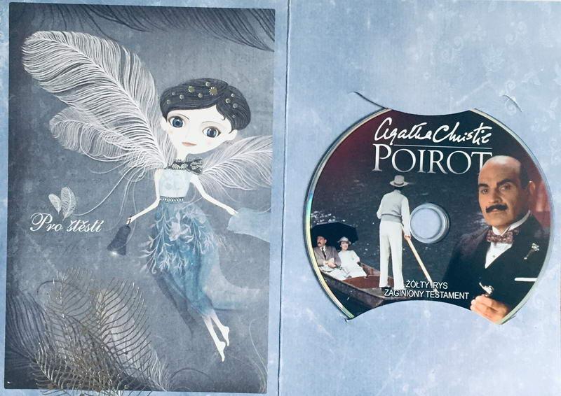 Poirot - Žlutý Iris - DVD /dárkový obal/