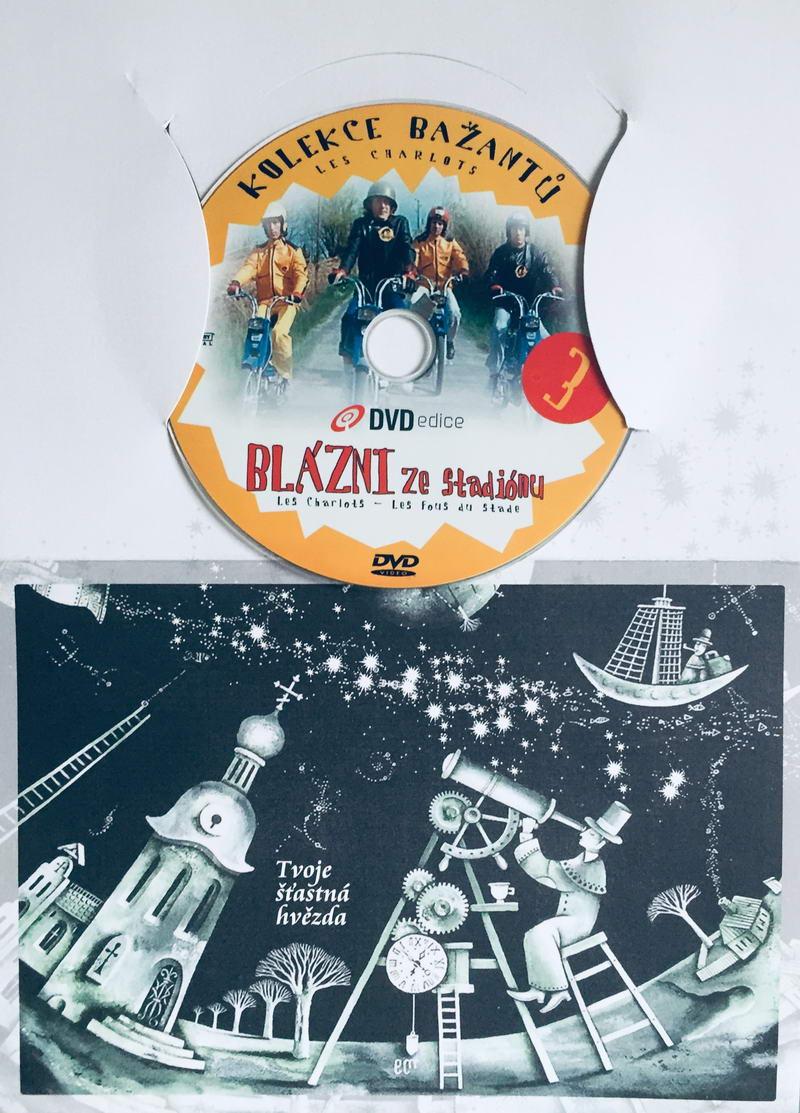 Bažanti 3 - Blázni ze stadionu - DVD /dárkový obal/