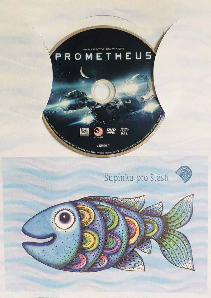 Prometheus - DVD /dárkový obal/